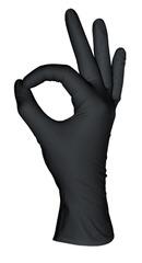 Перчатки нитриловые MediOK Черные+ 50пар (100шт...