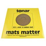 Мат Для Проигрывателя Виниловых Пластинок (Tonar Cork 'n Rubber Mat 5974)