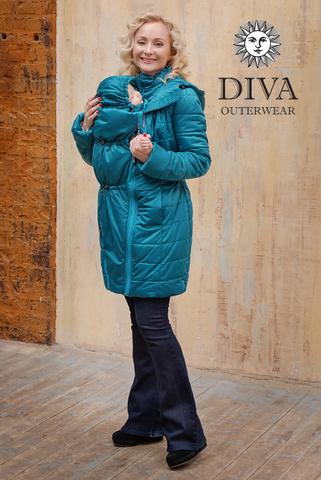 Куртка 4в1 зимн. Diva Outerwear Mare для беременных и слингоношения