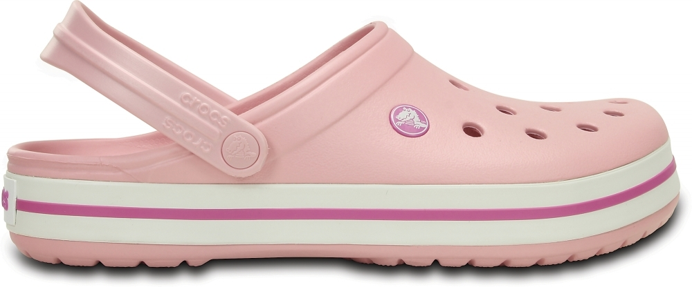 Сабо Crocs Crocband Pearl Pink/Wild Orchid