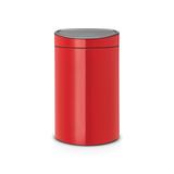 Мусорный бак Touch Bin New (40 л), Пламенно-красный, арт. 114960 - превью 1