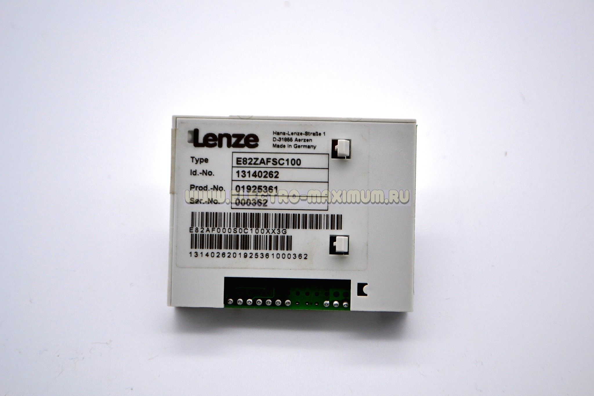 Lenze E82ZAFSC100