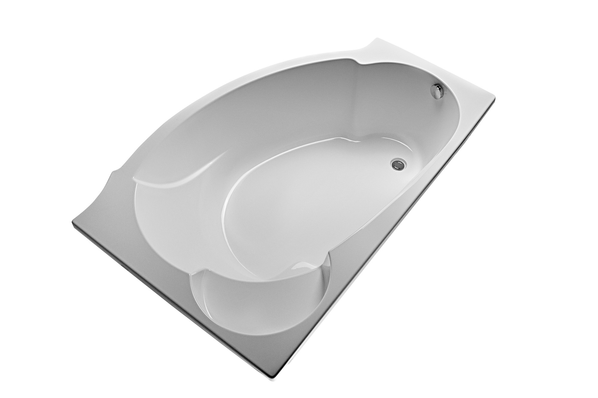 Ванна акриловая 170х110 Александрия правая, Eurolux