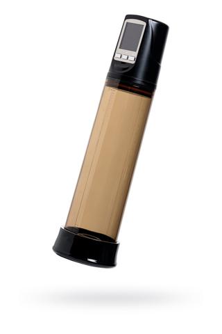 Автоматический вакуумный тренажер для мужчин Erotist ToZoom, ABS пластик, чёрный, 28,5 см