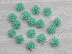 Акриловые розы морская волна 1 см