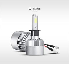 Светодиодные лампы H3 Headlight Patrol COB S2 комплект