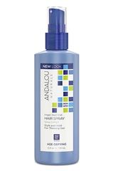 Укрепляющий спрей для придания объема тонким волосам, Andalou Naturals