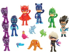 Набор Делюкс из 16 фигурок - Герои в Масках, PJ Masks