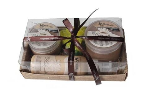 Набор подарочный №1 линия для рук Шоколадная (бальзам, смузи, молочко, мыло)/TM ChocoLatte