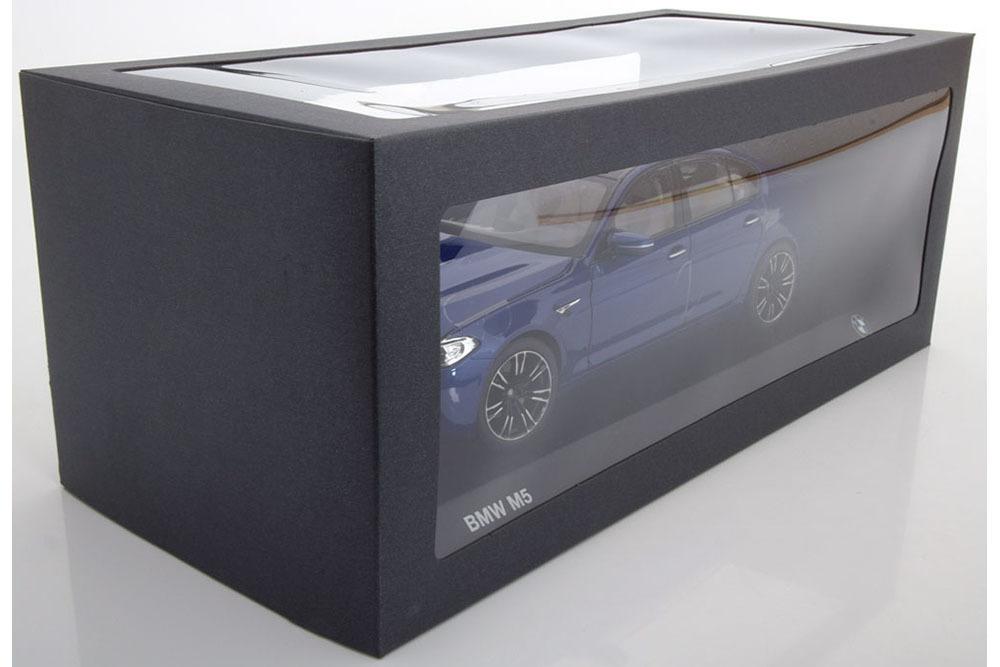 Коллекционная модель BMW F90 M5 2018 MARINA BLUE METALLIC