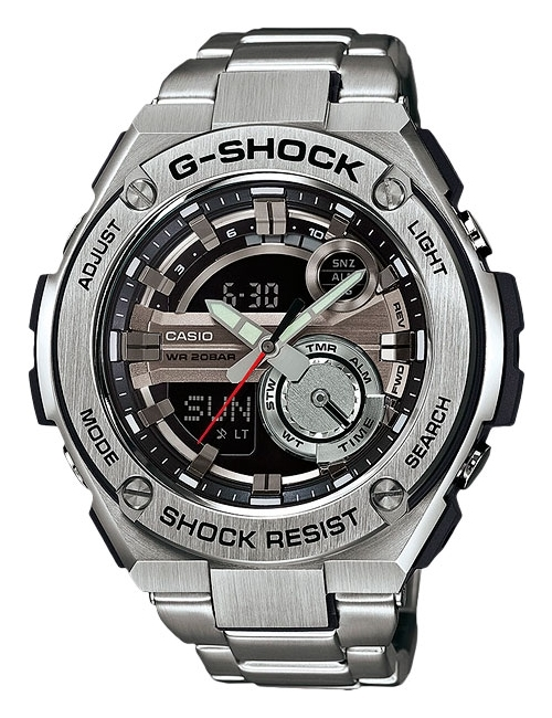 Часы мужские Casio GST-210D-1AER G-Shock G-Steel