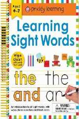 Wipe Clean: Learning Sight Words : Includes a Wipe-Clean Pen and Flash Cards!