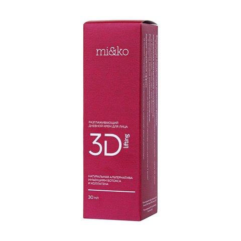 Разглаживающий дневной крем для лица 3D-Lifting | mi&ko