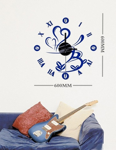 Часы-наклейка с маятником 1*AА батарея( в комплект не входит), NL31 (Feron)