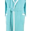 Элитный халат велюровый LC-Wing лазурь от Vossen