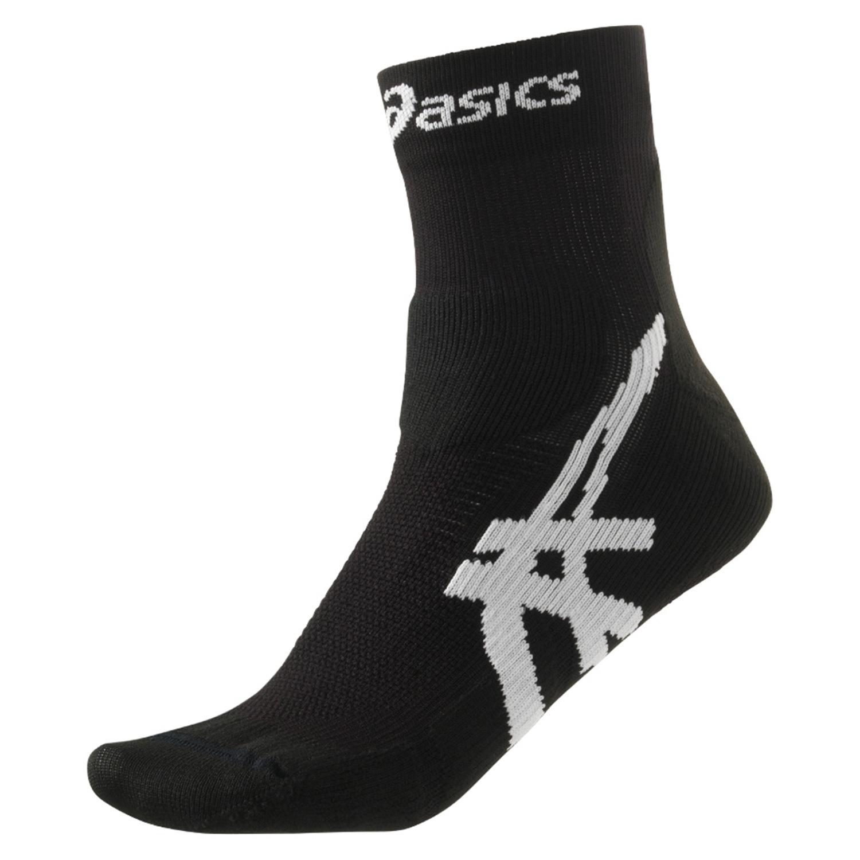 Спортивные носки для бега Asics Cumulus Sock (123437 0900) черные фото