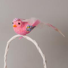 Птица SL2Y 0048 розовая