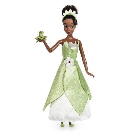 Кукла принцесса Тиана (Tiana) с лягушкой Перевыпуск 2017 г. - Принцесса и Лягушка, Disney