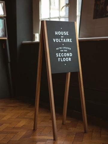 Штендер для кафе
