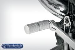 Расширетель рычага передач серебро