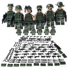 Минифигурки Военных Спецназ серия 295