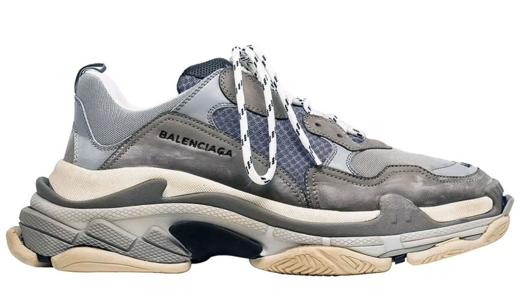 Balenciaga Triple S (Grey) (012)