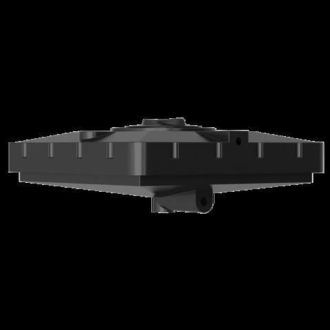 Бак д/душа 240 (черный) (950х950х400)