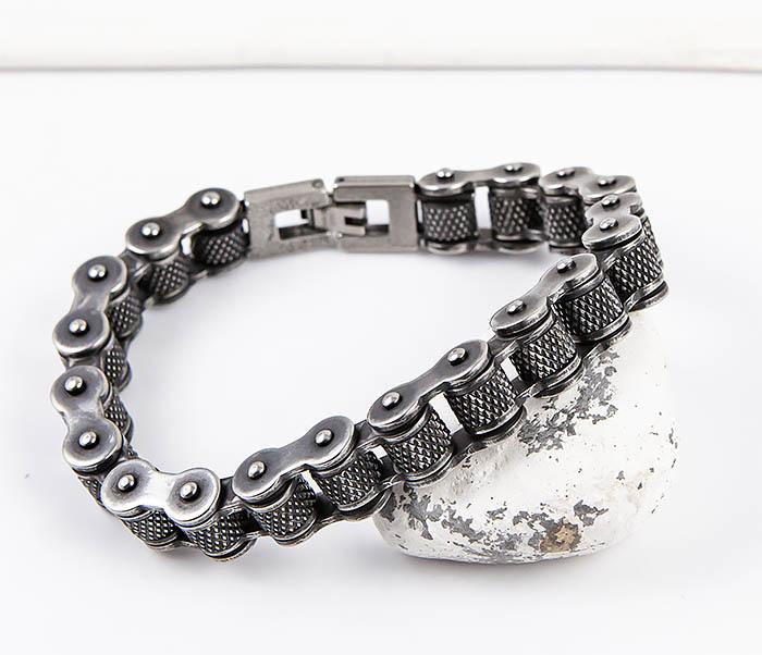 BM547 Крутой браслет цепь с вращающимися звеньями