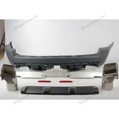 Бампер задний под покраску autobiography range rover 2010-2012. В комплекте  LR023705, LR023706, LR023707, LR026214, LR006348, LR006349