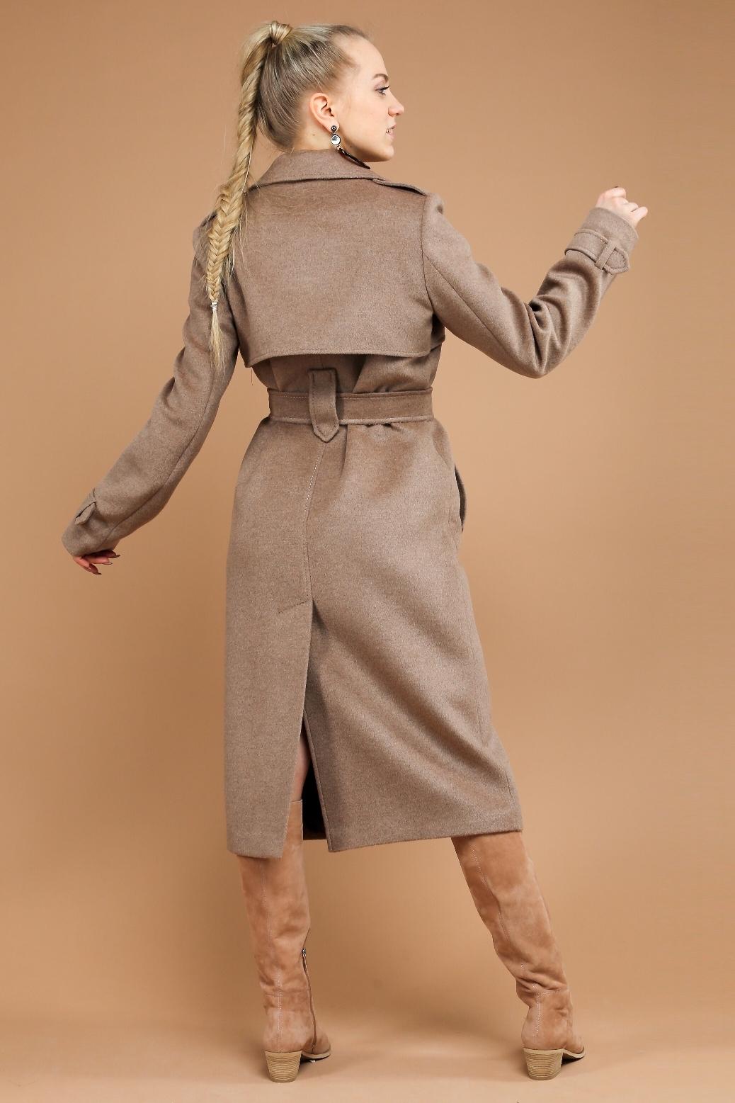 Пальто-тренч с отлетными кокетками