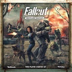 Fallout: Wasteland Warfare (на русском языке)