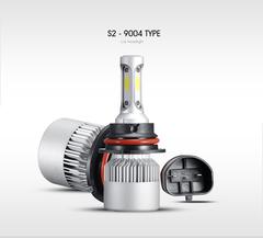 Светодиодные лампы HB1 9004 Headlight Patrol COB S2 комплект