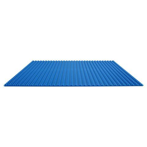 LEGO Classic: Базовая строительная пластина синего цвета 10714