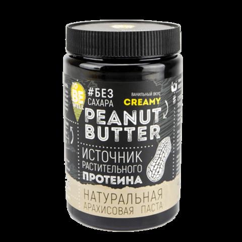 Арахисовая паста Crunch, ванильная, 750 г.