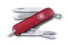 Нож-брелок Victorinox Classic Signature, 58 мм, 7 функций, полупрозрачный красный
