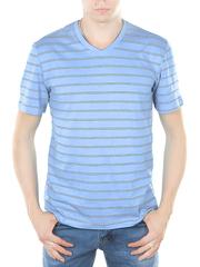 52520-23 футболка мужская, голубая