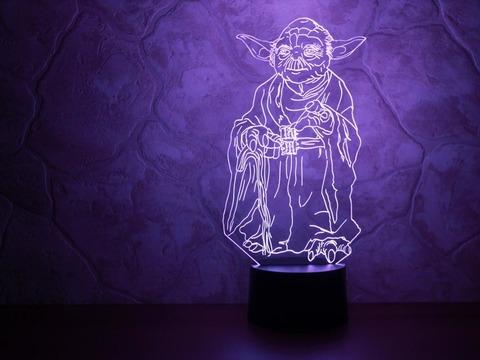 Art-Lamps Йода
