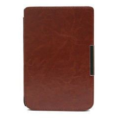 Чехол Hard Case With Clips для PocketBook 624/626/614/625/641 Brown Коричневый