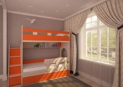 Кровать двухъярусная Юниор1