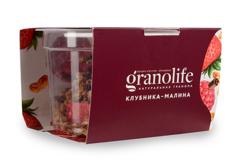 Гранола с клубникой и малиной Granolife, 60г