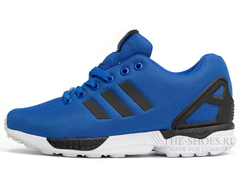 Кроссовки Мужские Adidas ZX Flux Blue Black