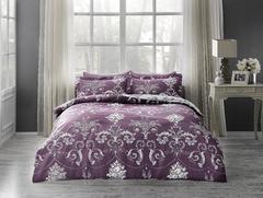 Постельное белье  ARREDO фиолетовый deluxe TIVOLYO HOME Турция