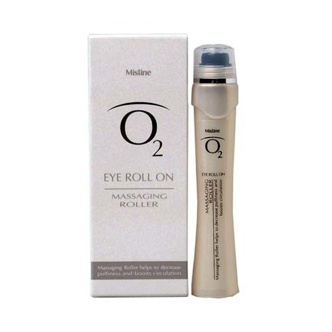 Mistine O2 Eye Roll On / Роликовый лифтинг гель для зоны вокруг глаз (9 мл)