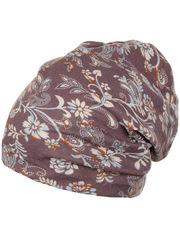 HB15044-11 шапка женская, сиреневая