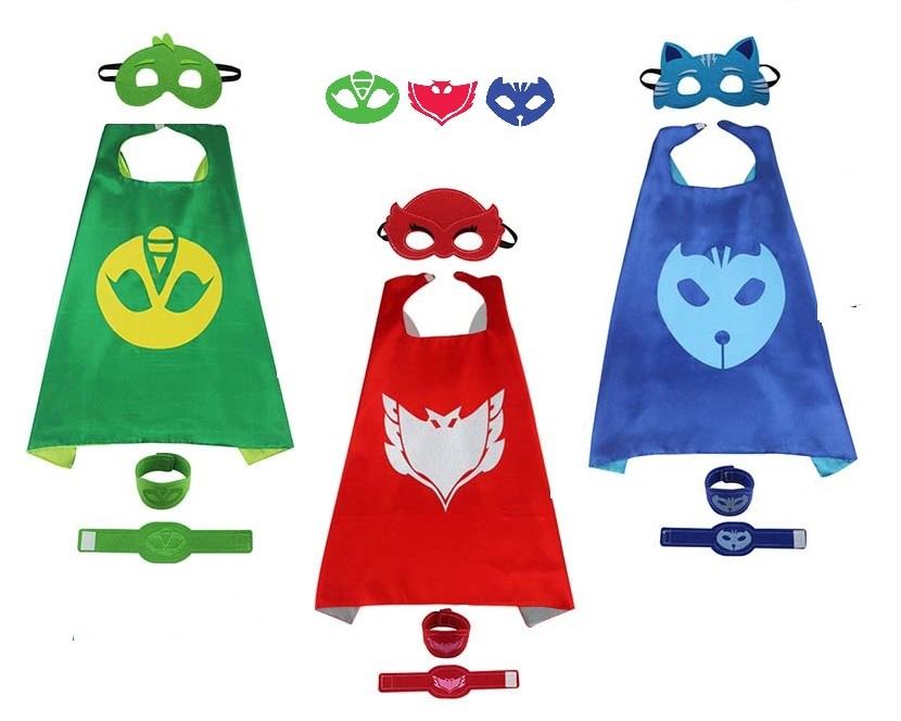 Герои в масках костюм маска и плащ