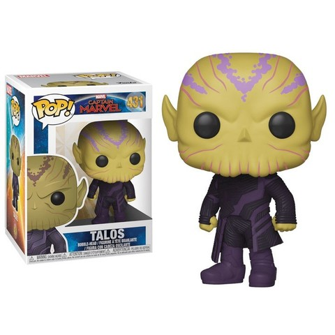 Funko - POP Marvel: Captain Marvel - Talos Brand New In Box