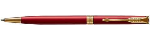 Шариковая ручка Parker Sonnet Slim Lacquer Intense Red GT
