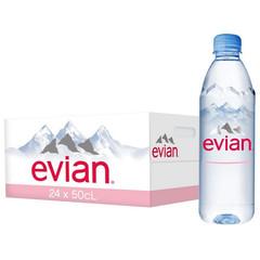 Вода минеральная Evian ПЭТ 0,5л негаз.24шт/уп