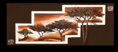 """Постер """"Деревья в горах"""""""