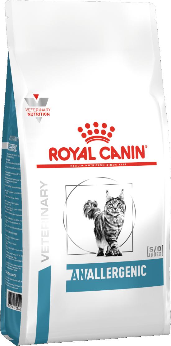 Кошки Корм для кошек, Royal Canin Anallergenic AN 24 Feline, тяжелой формой пищевой аллергии/непереносимости 756020.png